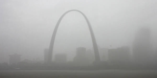 Photograph - Rain Delay In St Louis by Garry McMichael