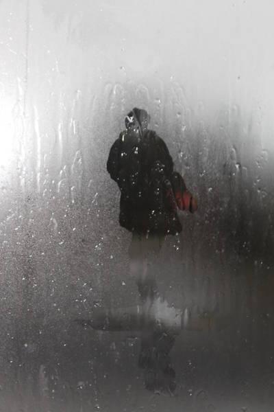 Donegal Digital Art - Rain Drops On My Window by Jim Osborne