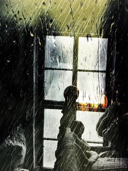 Digital Art - Rain In My Heart by Robert Grubbs