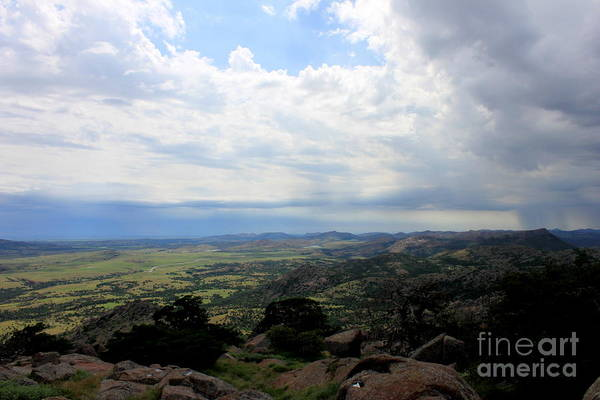 Wall Art - Photograph - Rain In The Distance by Eric Irion