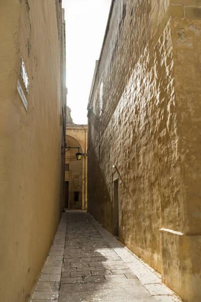 Photograph - Rain In The Sunshine - Sunshower In Mdina The Ancient Capital Of Malta by Georgia Mizuleva