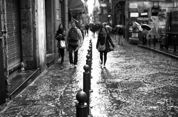 Wall Art - Photograph - Rain Lines by John Rizzuto