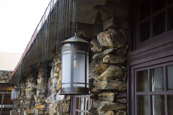 Grove Park Inn Photograph - Rain On The Roof by Jeff Roney