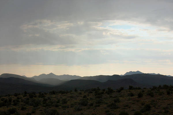 Wall Art - Photograph - Rain Over The Mountainside by Bobby Amey