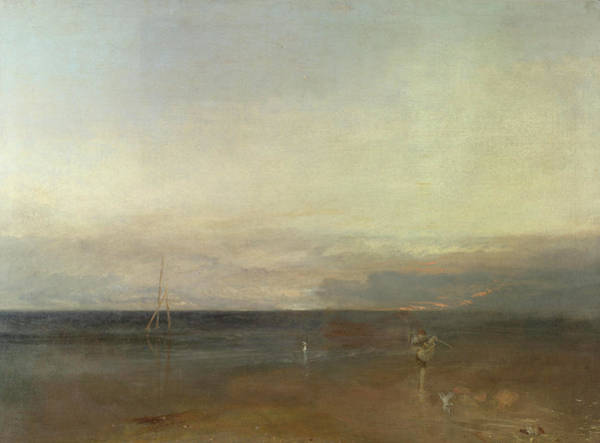 Netting Painting - Rain, Steam, And Speed -the Evening Star by Joseph Mallord William Turner