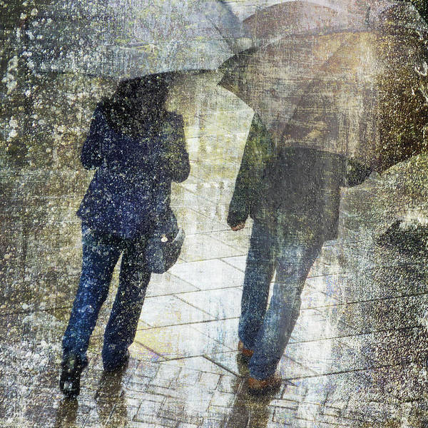 Photograph - Rain Through The Fountain by LemonArt Photography