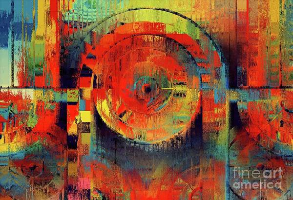 Wall Art - Digital Art - Rainbolo-1t1i-j050050237 by Variance Collections