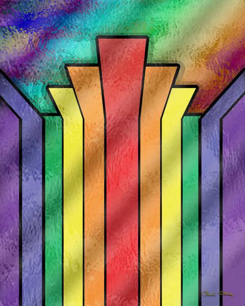 Digital Art - Rainbow 4 by Chuck Staley