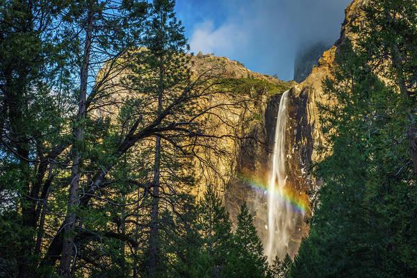 Photograph - Rainbow And Bridalveil Fall by TM Schultze