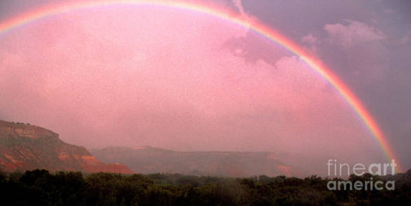Photograph - Rainbow And Clearing Storm by Thomas R Fletcher
