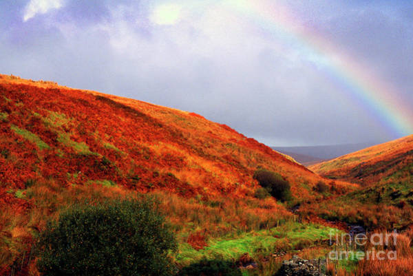 Wall Art - Photograph - Rainbow And Ridges by Thomas R Fletcher