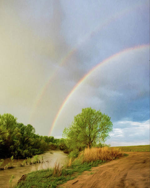 Photograph - Rainbow And River Art by Rob Graham