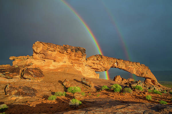 Photograph - Rainbow Arch by Ralf Rohner
