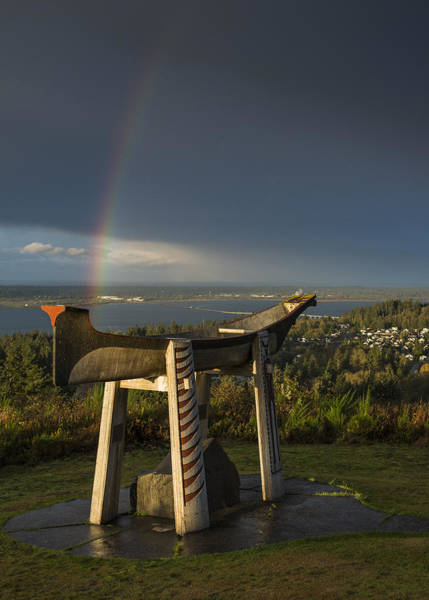 Photograph - Rainbow At Coxcomb Hill by Robert Potts
