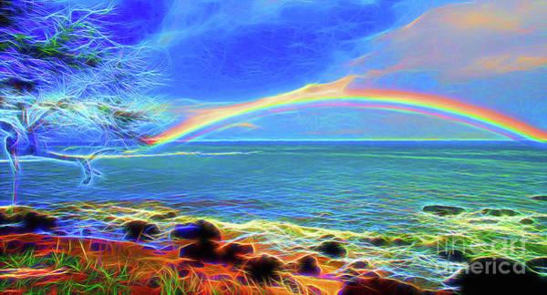Wall Art - Photograph - Rainbow Beach by Jerome Stumphauzer