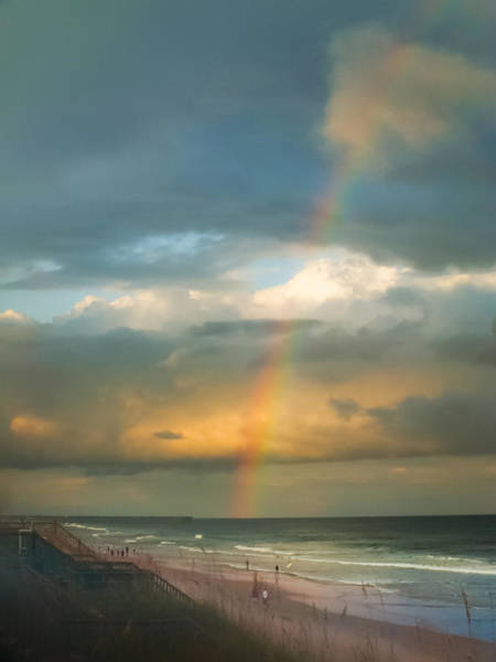 Wall Art - Photograph - Rainbow Beach by Karen Wiles