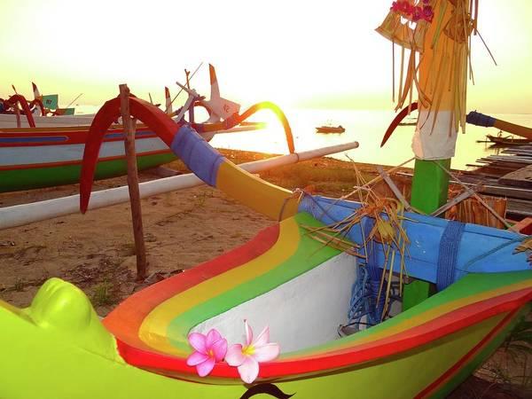 Photograph - Rainbow Boats by Exploramum Exploramum