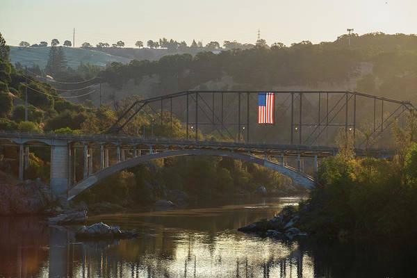Photograph - Rainbow Bridge At Sunrise by Jonathan Hansen