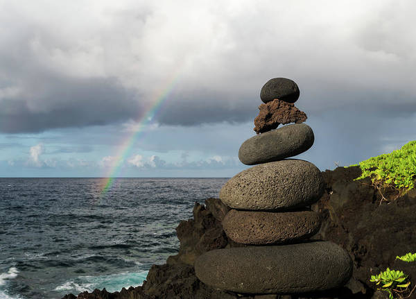 Photograph - Rainbow Cairn by William Dickman