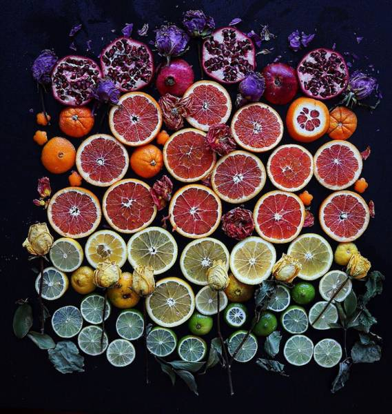 Photograph - Rainbow Citrus Etc by Sarah Phillips