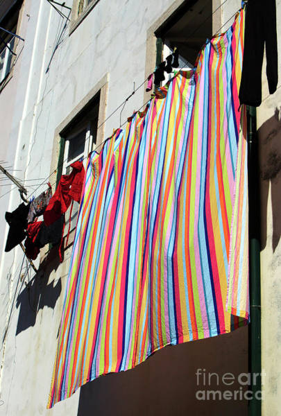 Wall Art - Photograph - Rainbow Colors In Lisbon by John Rizzuto