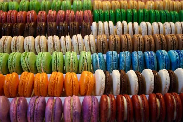 Photograph - Rainbow Cookies by Flavia Westerwelle