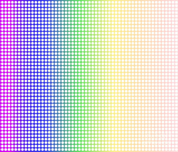 Perforations Digital Art - Rainbow Dot Perforations by Bigalbaloo Stock