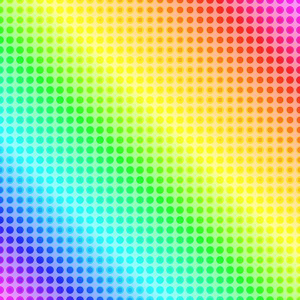 Pale Blue Dot Wall Art - Photograph - Rainbow Dots by Lena Photo Art