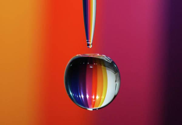 Falling Rainbow  Art Print