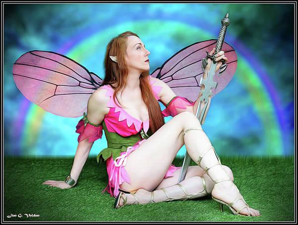 Photograph - Rainbow Fairy by Jon Volden