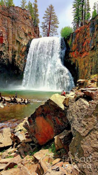 Photograph - Rainbow Falls 17 by Joe Lach