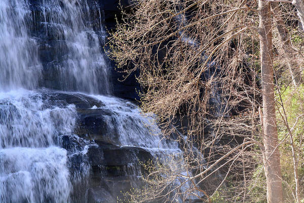 Photograph - Rainbow Falls In Gorges State Park Nc 03 by Bruce Gourley