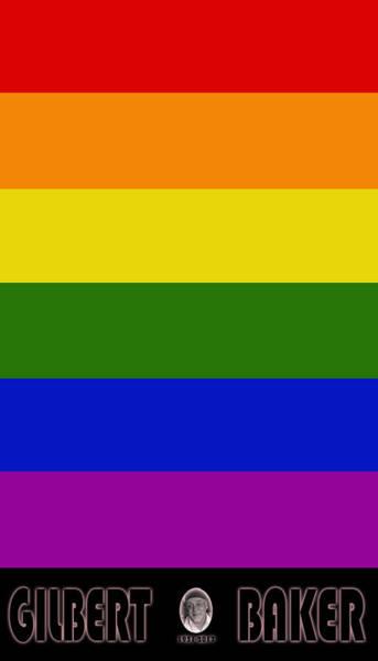 Lgbt Photograph - Rainbow Flag 1 by Andrew Fare