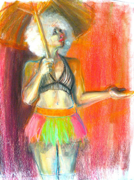 Caucasian Drawing - Rainbow by Gabrielle Wilson-Sealy