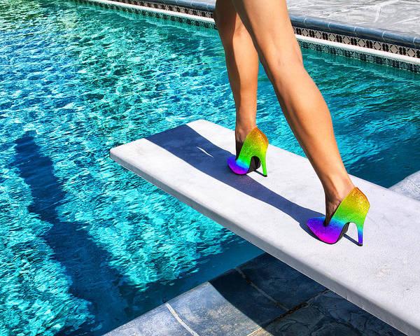 Wall Art - Photograph - Rainbow Heels Palm Springs by William Dey