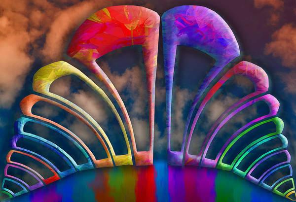 Rainbow Hill Art Print
