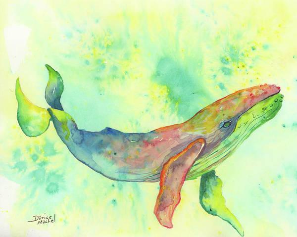 Painting - Rainbow Humpback by Darice Machel McGuire