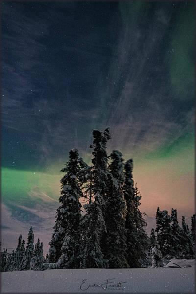 Photograph - Rainbow In The Night by Erika Fawcett