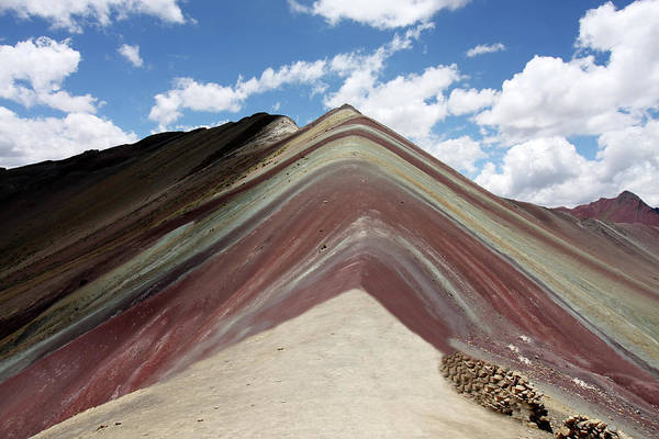 Photograph - Ausangate Mountain 6,384m, Peru by Aidan Moran