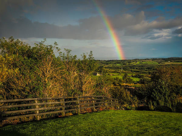 Photograph - Rainbow Over County Clare by James Truett