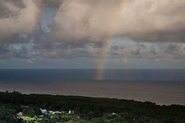 Photograph - Rainbow Over Maui by Robert Potts