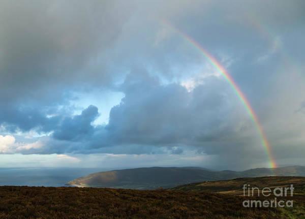 Photograph - Rainbow Over Porlock Hill by Andy Myatt