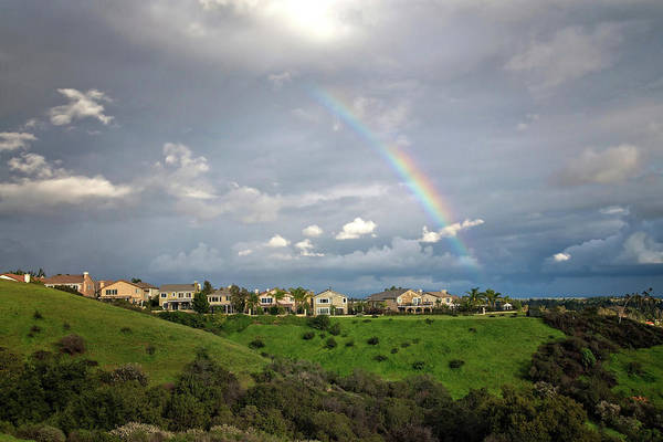 Photograph - Rainbow Over Porter Ranch 3 by Lynn Bauer