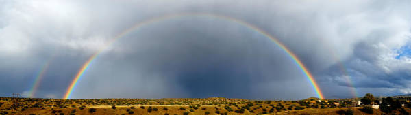 Photograph - Rainbow Panorama by Mary Lee Dereske