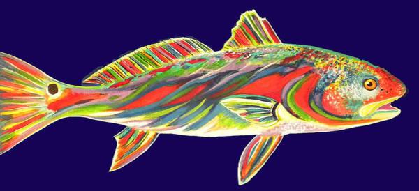 Rhea Painting - Rainbow Red by Rhea Witthoft