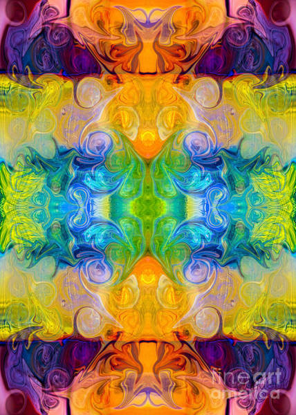 Digital Art - Rainbow Revolution Organic Bliss Designs By Omaste Witkowski Oma by Omaste Witkowski