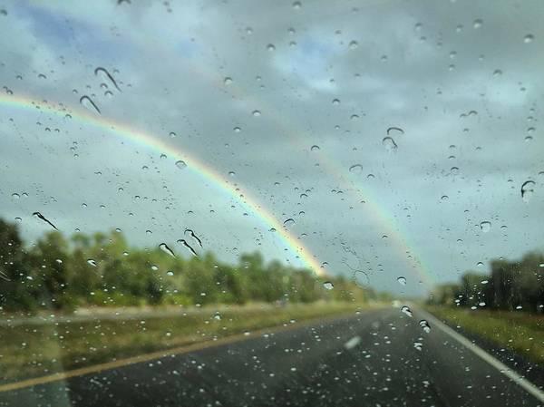 Photograph - Rainbow Road by David Hart