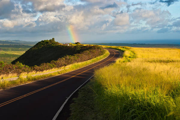 Waimea Canyon Photograph - Rainbow Road by Thorsten Scheuermann