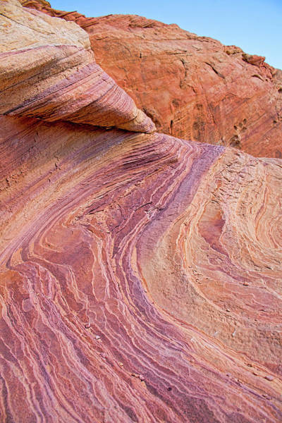 Photograph - Rainbow Rocks Near Fire Canyon by Kristia Adams