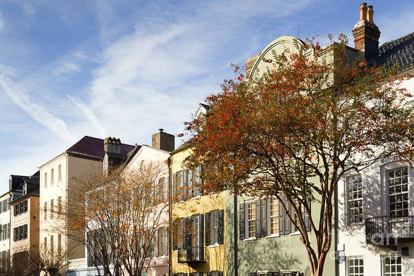 Sc Wall Art - Photograph - Rainbow Row Charleston Sc by Dustin K Ryan